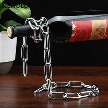 1 pc 6 styles Wine Racks Handmade Plating Process Support Home Kitchen Bar Accessories Practical Wine Holder(China)