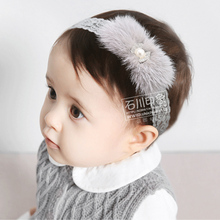 New type girl feather hair head bands kids headband accessories for newborns girls headbands hairband turbant hair ornaments