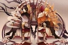 Sasuke art Naruto guys anime MB53 Living room home wall art decor wood frame fabric posters