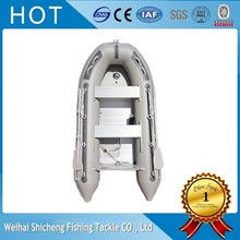 CE Certificate China Factory PVC Boats/Light grey PVC Inflatable Fishing Boat(China)