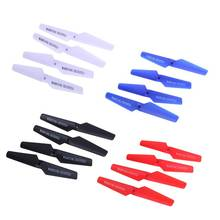 16pcs 4 Colors For Syma X5 Spare Parts Main Blade Props Propellers for Syma X5 Original RC Helicopters Accessories