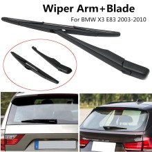 Rear Window Windshield Wiper Arm+Blade Complete Replacement Set For BMW X3 E83 2003-2010 New