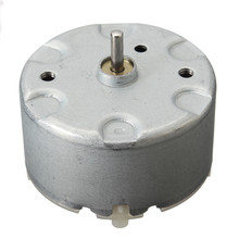 Fan Motor RF500 Warning Light DC Motor 3-24V 3-1000RPM Motor Shaft 6-8mm Best Promotion