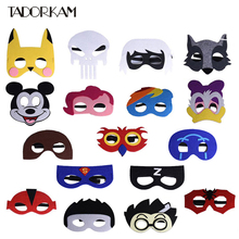kids superhero mask bumblebee Deadpool transformer mask cosplay superman batman spiderman halloween mask for child party costume(China)