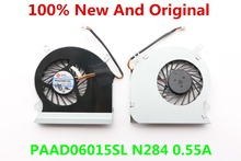 NEW PAAD06015SL N285 0.55A CPU FAN FOR Msi GE60 MS-16GA 16GC MS-16GH MS-16GF MS-16GD CPU COOLING FAN