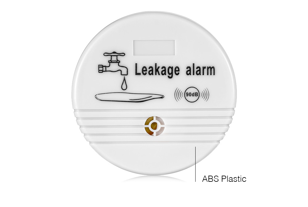 Free shipping Independent Wireless Water Leak Detector 90 dB Volume Water Leakage Alarm for Home Kitchen Toilet Floor_6