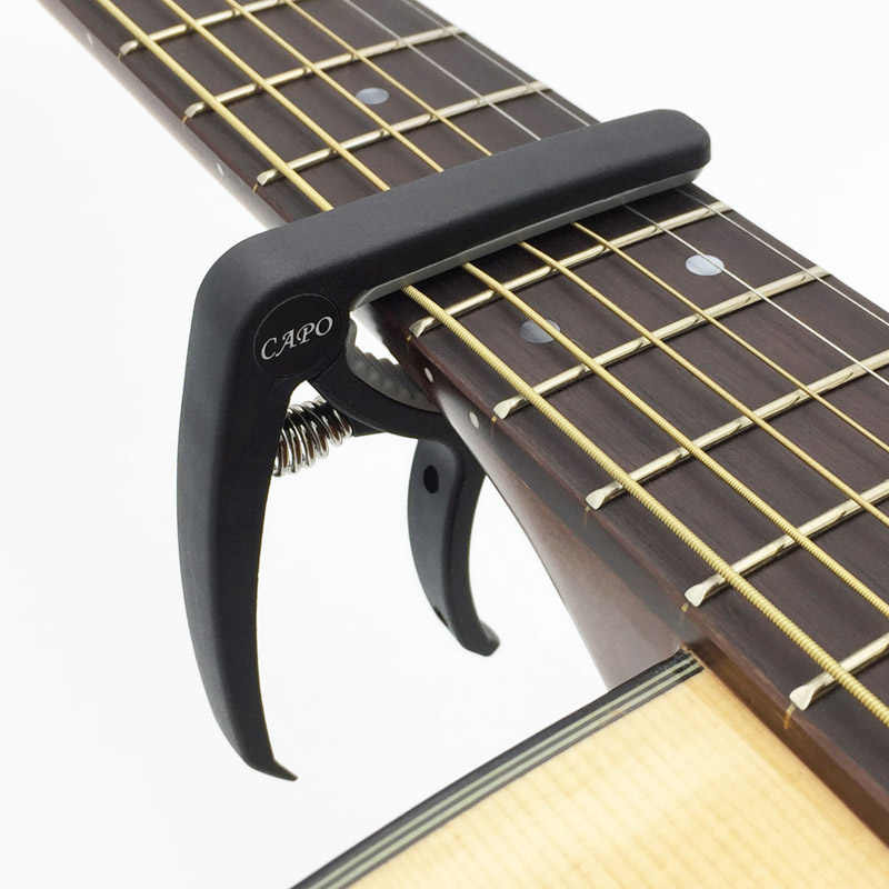 New Plastic Guitar Capo 3 Colors_11