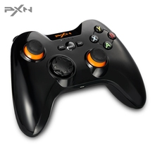 PXN 2.4G Wireless Gamepad For PS3 Game Console Dual Vibration Joystick Controller For Andriod Windows XP / Vista / 7 / 8 /10(China)