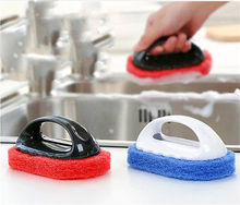 1pc Kitchen Soft Sponge Brush Bottle Cup Glass Washing Cleaning Cleaner Tool Dish Pot Cleaning Brushes Antibacterial Brush Tools