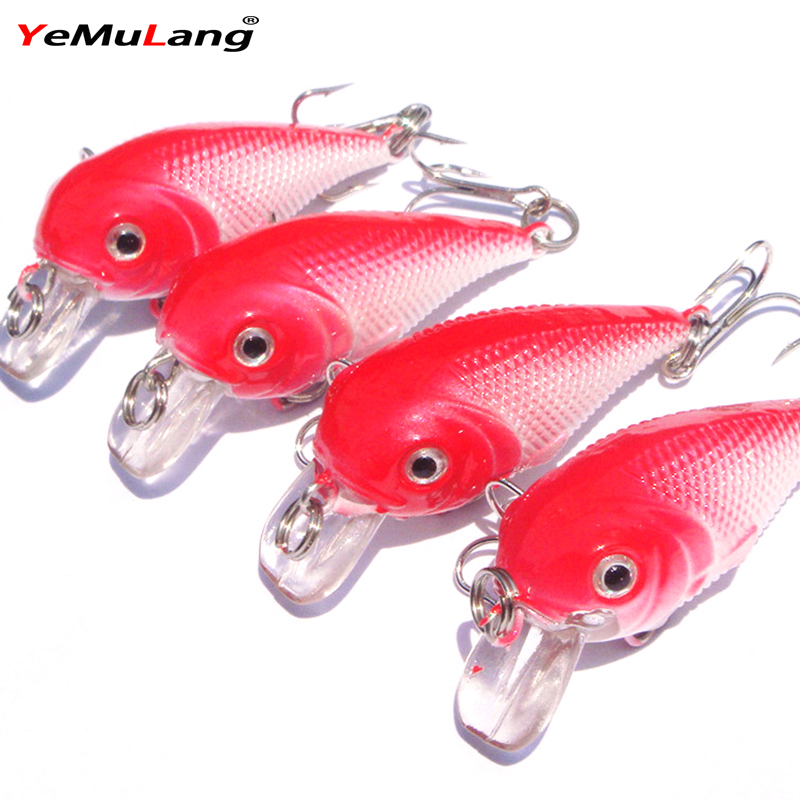 6G 5.5CM Bass Hard Fishing Lures Crank Bait Crankbait Tackle Swim Bait Wobblers Fish Lure For Fishing Tackle<br><br>Aliexpress