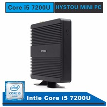 hystou fmp11 mini pc core i5 7200u windows 10 fanless computer mini pc i3 linux hdmi powerful gaming pc mini size nettop mini pc(China)