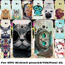 Soft Silicon TPU&Hard Phone Cover Case For HTC Desire 728 728G Sailfish One M10 M9 PLUS M9+ ONE A9 Marlin Google Pixel XL Case