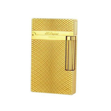 High quality Silver & Gold  Metal S.T.Dupont Memorial Dupont Lighter Windproof Cigarette Gas Lighter Bright Sound