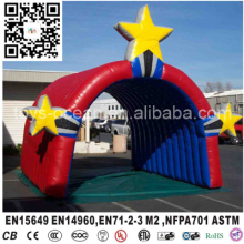 Super star inflatable entrance tunnel football entrance tunnel