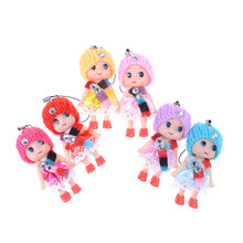 5pcsMini Soft Interactive Baby Dolls Toy cute Doll For girls and boys Confused Doll Dolls & Stuffed Toys Kids Toys(China)