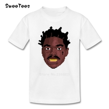 Blur Style Kodak Black T Shirt Baby Patty Cake First Day Out Tshirt Children Clothing 2017 Customized T-shirt For Boys Girls