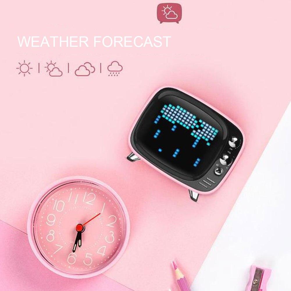 Wireless Bluetooth Mini Alarm Clock 12