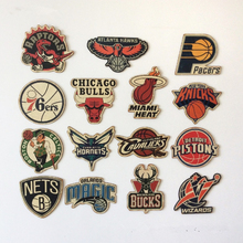 """NBA East Conference Team Logo"" Bar Cafe Home Decoration Antique Poster Wall Chart Retro Basketball Decorative Wall Sticker"
