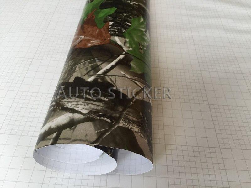 Realtree camo vinyl car wrap 1