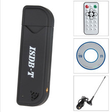 Isdb-t usb digital tv tuner receiver Video Recorder USB Isdb t TV Stick dongle with Antenna & Remote Control for TV for laptop(China)