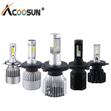 LED Car headlight Bulb H7 H4 H1 12V Auto led lamp 6000K Automobiles light 12000LM H11 9005 HB4 9012 9007 H13(China)