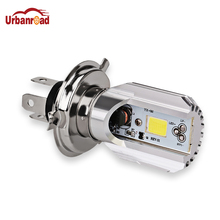 Urbanroad H4 6000K 12V LED Motorcycle Motorbike Headlights HS1 Bike Fog Lamp Bulb Light Moped Scooter DC12V Outdoor Lighting(China)