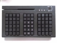 KB66 66 Keys USB Programmable Keyboard With Track 1 Track 2 Track 3 MSR(China)
