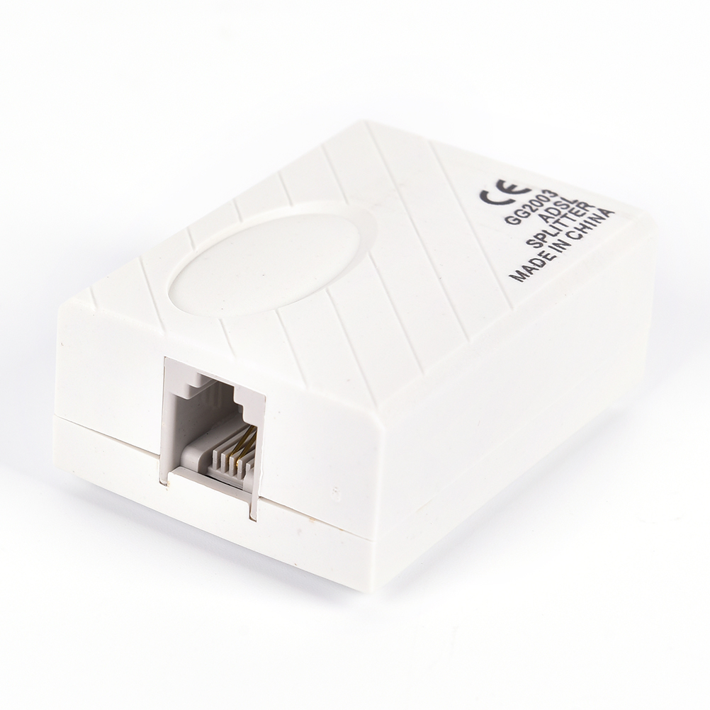 1* Hot Sale New High Quality In-line DSL Noise Filter With Splitter