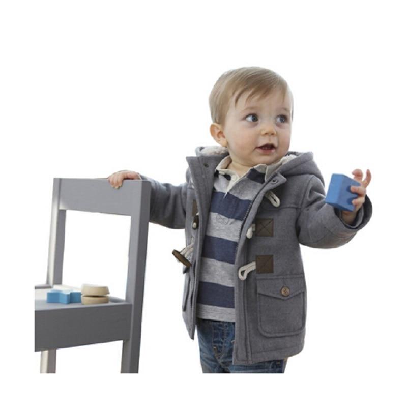 Baby boys Jackets Coats Baby Boys fashionl Long Sleeve Outerwear Coral Velour Children Zipper Hoodies  Coats<br><br>Aliexpress