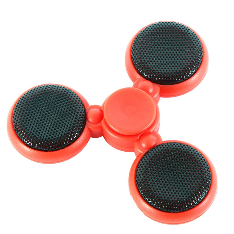 Finger Fidget Toys Callable Bluetooth Audio Spinner Flashable Rechargeable Music EDC Gyro Spinning Toys