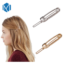 Fashion Women Hair Clip Stylish Hairpins Headwear Simple Brooch Clips Barrettes Hair Accessories Girls Beauty Hairgrip Headdress(China)