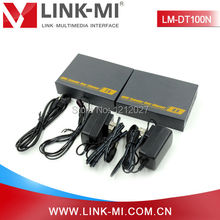 LINK-MI LM-DT100N 120m 1080p HDMI Extender Over TCP IP Support IR Extender Function Following TCP/IP Standard