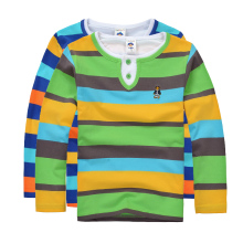 Buy High children clothing boys girls clothes kids t shirt spring autumn striped cotton long sleeve shirt for $7.15 in AliExpress store