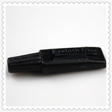 2 ml Eyelash glue plastic tube flat Travel black false eyelashes glue makeup essential tool