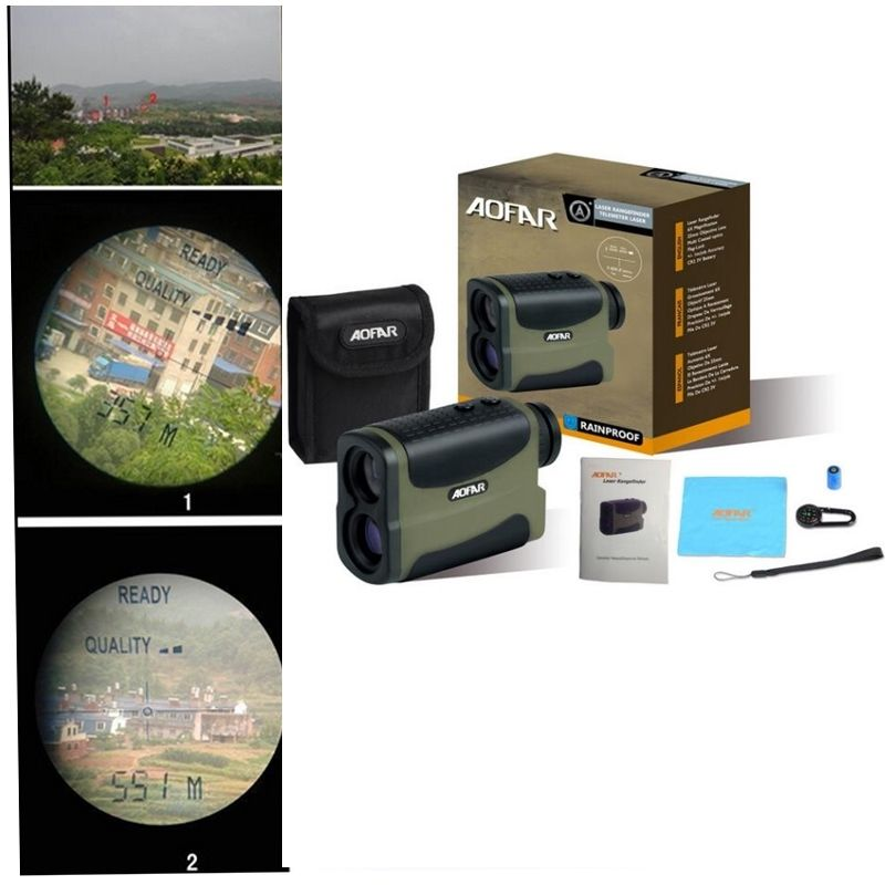 Free Shipping!6x Multifunction Laser Range Finder Telescope 700 Yards Hunting Golf Distance<br><br>Aliexpress