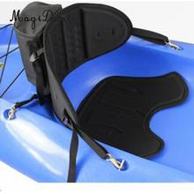 MagiDeal Adjustable Sit On Top Fishing Canoe kayak Backrest Seat Backrest With Back Bag Rowing Boat Part for Marine Water-Skiing(China)