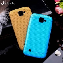 AKABEILA Ultra Slim Flexible Gel TPU Cell Phone Cases For LG K4 K120E K130E Covers Case Skin Silicon Housing Bags Protector(China)