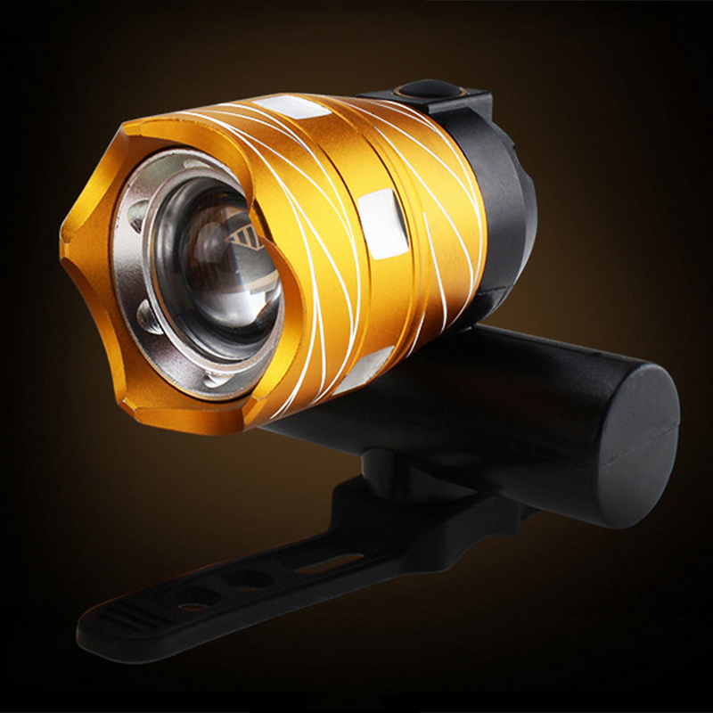 AIMIHUO Cree T6 LED Headlight USB Rechargeable Powerful Night Riding Lamp Rotary Zoom Bike Light Waterproof LED Cycling Light  (12)