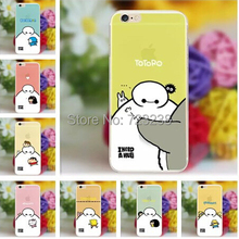 Hot ! cell phone cases For Big Hero 6 Baymax Cute cartoon case For Apple iphone 6 4.7 Case Baymax case covers Free Shipping Item