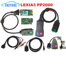 Top Rated Lite LEXIA3 PP2000 For Citroen Peugeot FW 921815C Professional Scanner Diagbox V7.82 Lexia 3 Lexia-3 V48 PP2000 V25
