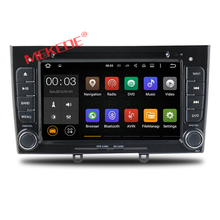 Cheap price android 7.1 Car dvd player multimedia system for Peugeot 308 408 with car GPS navigation dvd radio audio Quad Core(China)