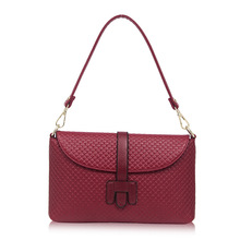 Women Leather Flap Bags Handbags Famous Brands Women Leather Handbags Women Bolsos Tote  Vintage Crossbody Bag ST202 Burgundy