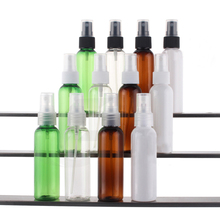20pcs 60ml Small Toner Lotion Emulsion Sample Perfume bottle Empty Plastic PET Spray Bottles Cosmetic Containers Wholesale EB24