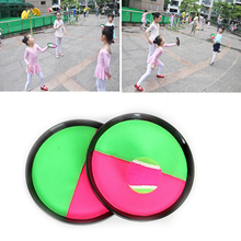 Funny Children Family Outdoor Fun Sports Toys Throw Catch Ball Game Activity Toys Beach Garden Ball Game Sucker Disc