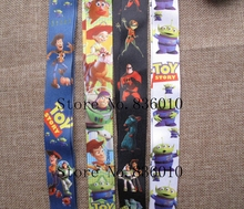 Hot Sale! 60 pcs Popular Toy Story  Key Chains Mobile Cell Phone Lanyard Neck Straps Children Toy  Favors SZ-249