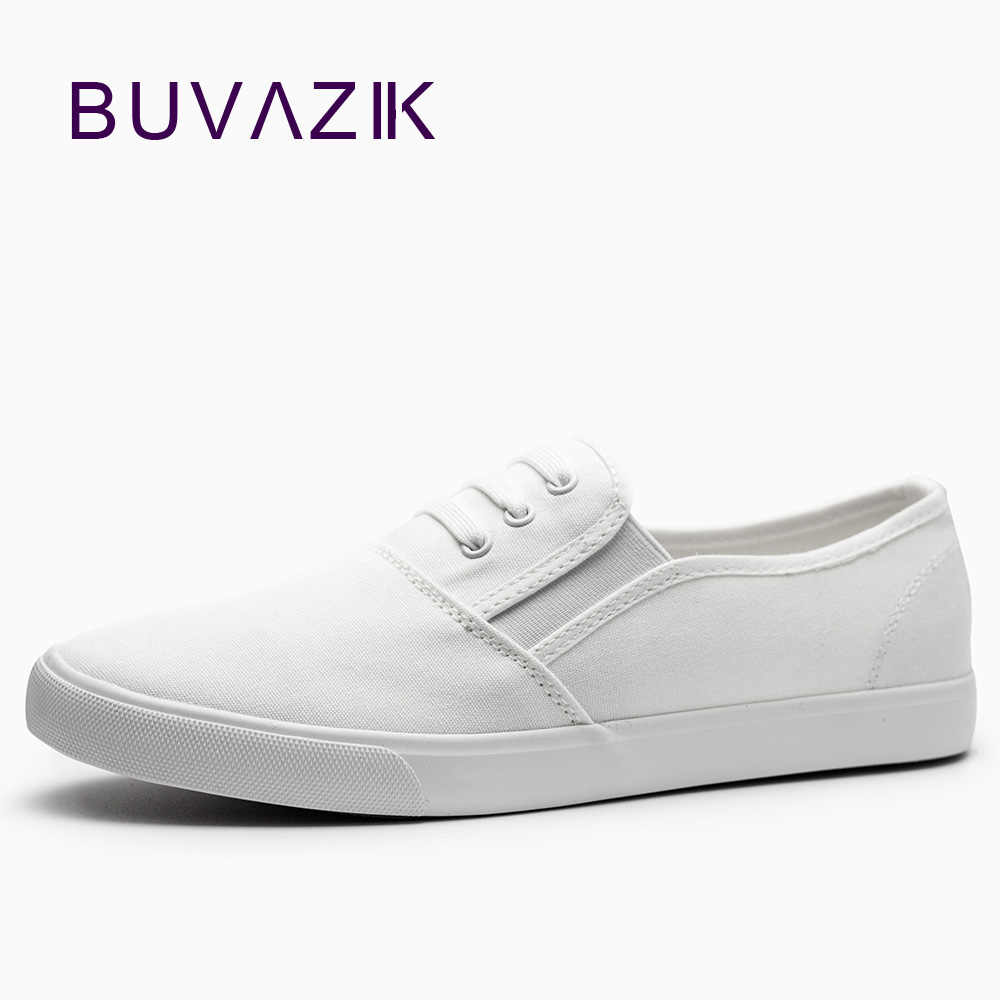 3b81cb8fc9 2018 Women Canvas Shoes slip on white black sneaker for summer breathable  ladies Espadrilles Big Size