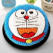 Artificial birthday Cake bakery Decoration Cartoon Cat Artificial birthday Cakephotograph Props 8inch Artificial birthday Cake(China)