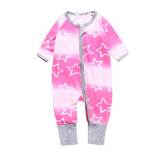 New Arrival Baby Clothes Baby Boy Girls Footed Romper Baby Rompers Cotton Sleep & Play Clothes Baby Pajamas NewbornDBR092(China)