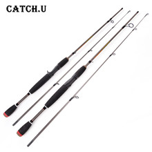 1.7M/1.8M Test 4-21g M Action EVA Handle Silver Carbon Fiber Lure Baitcasting Spinning Fishing Rod(China)
