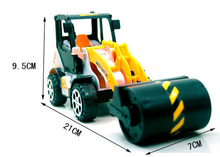A lot for 2 pcs Children's toy car model car truck bus two pressure roller bulldozers